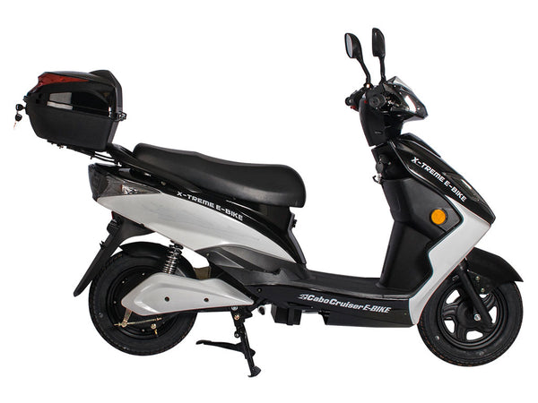 x treme cabo cruiser 48v electric moped electric bike city. Black Bedroom Furniture Sets. Home Design Ideas
