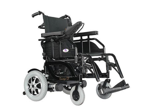 EV RIDER HP8 ESCAPE LX ELECTRIC WHEELCHAIR | power portable lightweight electric wheelchairs