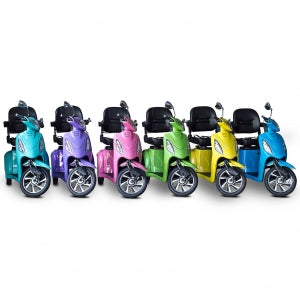 E-Wheels EW-85 JELLYBEAN 3-Wheel Electric Mobility Scooter