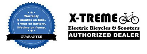 x-treme electric bicycles authorized dealer