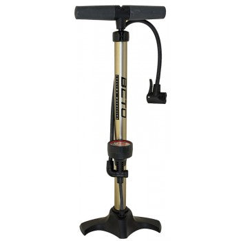 Beto 11 Bar/1160 PSI Universal Aluminum Floor Pump with Manometer Floor Pump - Electric Bike City