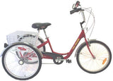 "Belize Bike Tri-Rider 24"" Deluxe Trike (Electric Motor Option Available) Electric Bikes - Electric Bike City"