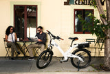 A2B Alva + 36V Electric Bike Electric City Bikes - Electric Bike City