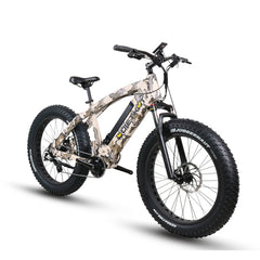 QuietKat Predator 750 48V, 750 Watt Mid-Drive Electric Fat Tire Bike Electric Fat Tire Bikes - Electric Bike City