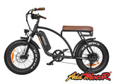 Addmotor MOTAN M-60 Electric Fat Tire Bike 48V 500W Vintage 1970's Electric Fat Tire Bikes - Electric Bike City