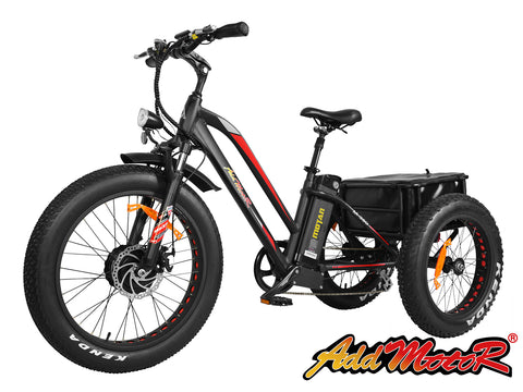 Addmotor MOTAN M350-P7 48V Three Wheel Electric Cargo Tricycle Electric Mountain Bikes - Electric Bike City