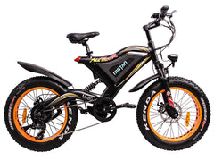 Addmotor MOTAN M-80 48V 500W Full Suspension Electric Fat Tire Bike Electric Bikes - Electric Bike City