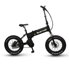 QuietKat QKF750-IB 48V Electric Folding Fat Tire Bike Electric Fat Tire Bikes - Electric Bike City