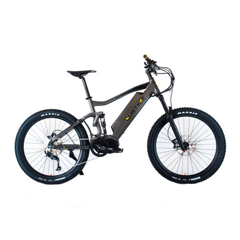 QuietKat RidgeRunner 48V, 750/1000 Watt Full Suspension Electric Mountain Bike Electric Mountain Bikes - Electric Bike City