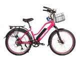 X-Treme Catalina 48 Volt Step-Through Electric Beach Cruiser Bike Electric Bikes - Electric Bike City