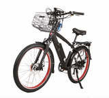 X-Treme Laguna Beach Cruiser 48V Electric Beach Cruiser Bike Electric Bikes - Electric Bike City