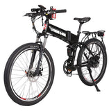 X-treme Baja 48V Folding Electric Mountain Bike Electric Mountain Bikes - Electric Bike City