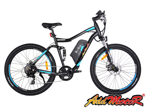Addmotor HITHOT H1 48V Dual-suspension Electric Mountain Bike Electric Mountain Bikes - Electric Bike City
