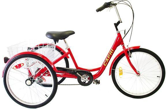 "Belize Bike Capri 24"" Trike Bicycle (Electric Motor Options)"