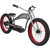 Micargi Cyclone 48V Electric Fat Tire Beach Cruiser Bike Electric Fat Tire Bikes - Electric Bike City