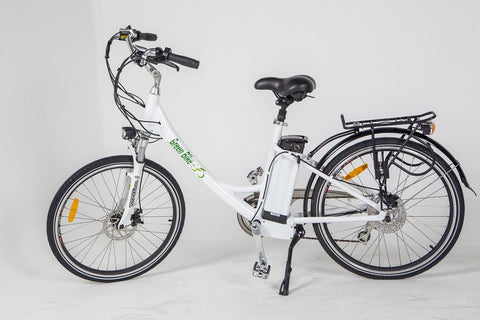 Green Bike USA GB2 Electric Beach Cruiser Electric Bikes - Electric Bike City