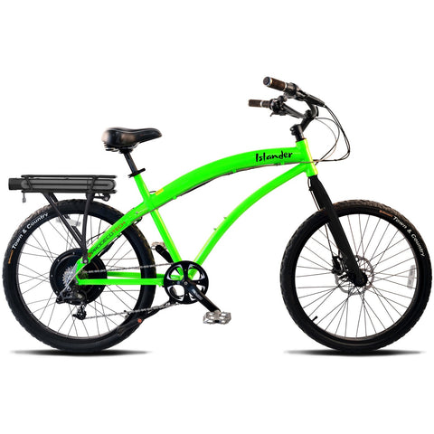 Prodecotech Islander V5 Electric Beach Cruiser Bike Electric Bikes - Electric Bike City