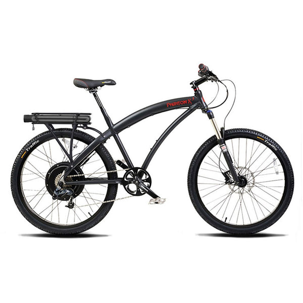 Electric City Bikes - Prodecotech Phantom X3 V5 Electric City Bike