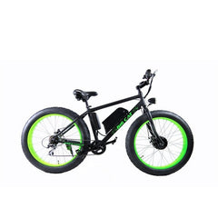 Electric Fat Tire Bikes - Big Cat Fat Cat 350 48V Electric Fat Tire Bike