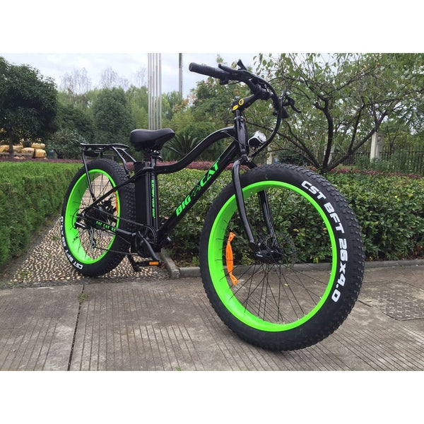 98072d75b49 Big Cat Fat Cat XL 500 Electric Fat Bike Electric Fat Tire Bikes - Electric  Bike