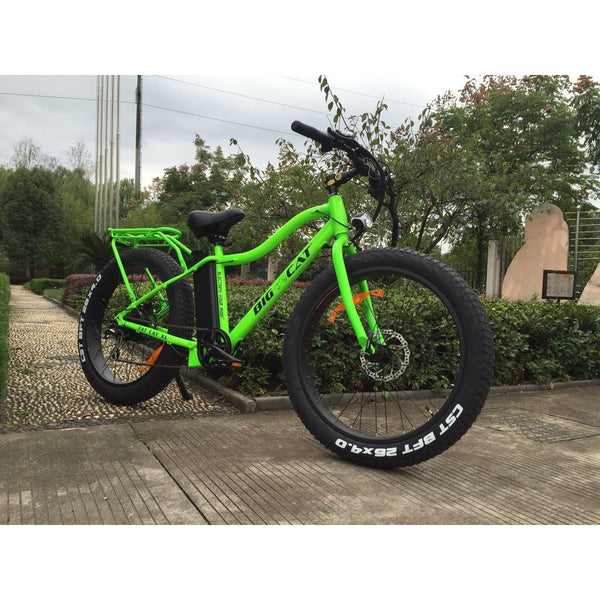 Big Cat Fat Cat Xl 500 Electric Fat Tire Bike New 2018 Model