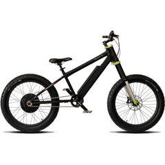 Electric Fat Tire Bikes - Prodecotech Rebel X Suspension V5 Electric Fat Tire Bike