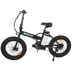 Electric Folding Bikes - E-Go Folding Electric Fat Tire Bike