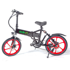 Electric Folding Bikes - Green Bike USA 2017 GB Smart Folding Electric Bike