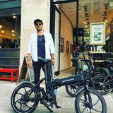 Electric Folding Bikes - Joulvert Stealth 36V Electric Folding Bike