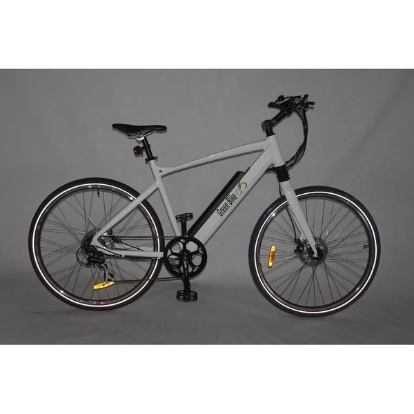 Green Bike USA GB Hardtail Electric Mountain Bike Electric Mountain Bikes - Electric Bike City