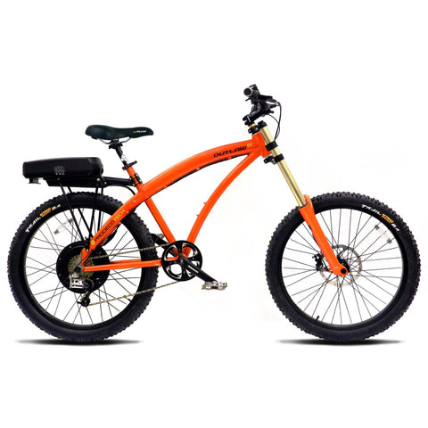 Prodecotech Outlaw SS 48V Hardtail Electric Mountain Bike Electric Mountain Bikes - Electric Bike City