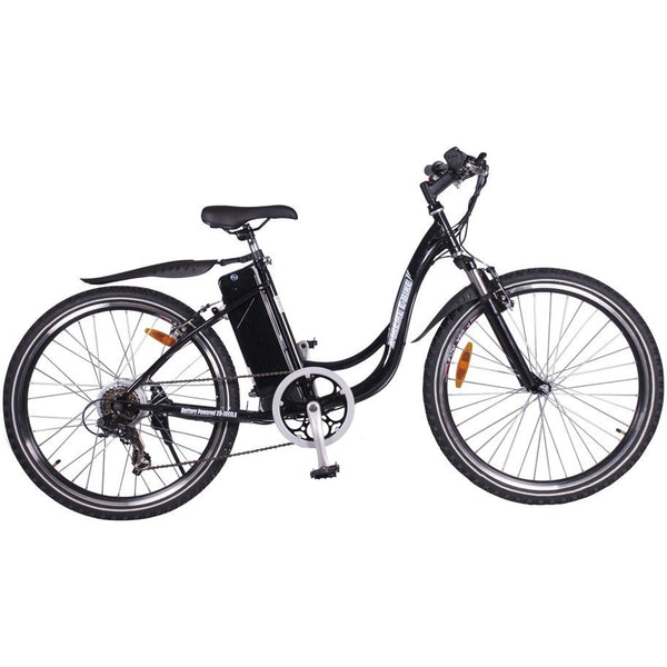X-Treme Sierra Trails 24V Step-Through Hardtail Electric Mountain Bike Electric Bikes - Electric Bike City