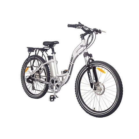 X Treme Trail Climber Electric Bike Step Through Lithium Powered Electric Bicycle