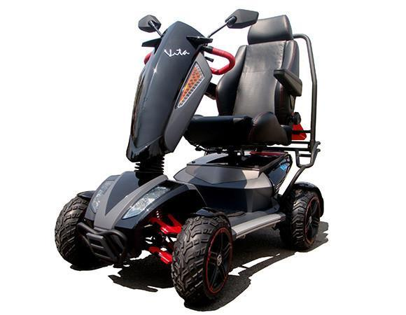Ev Rider S12x Vita Monster Mobility Scooter Electric