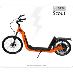 Glide SR24 Scout 48V Electric Scooter Electric Scooters - Electric Bike City
