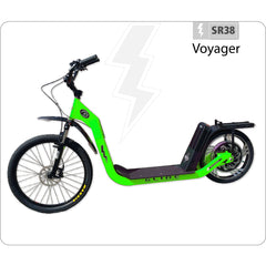 Glide SR38 Voyager 48V Electric Scooter Electric Scooters - Electric Bike City