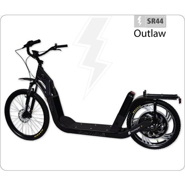 Glide SR44 Outlaw 48V Electric Scooter Electric Scooters - Electric Bike City