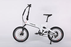 X-treme E-Rider 48 Volt Lithium Powered Electric Mini Folding Electric Bicycle Electric Folding Bikes - Electric Bike City