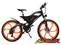 Addmotor HITHOT H2 48V Dual-suspension Electric Mountain Bike Electric Mountain Bikes - Electric Bike City