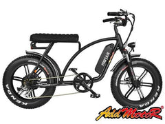 Addmotor Motan M60 (R7) 48V 750W Fat Tire Electric Beach Cruiser Retro Mini Bike Electric Fat Tire Bikes - Electric Bike City
