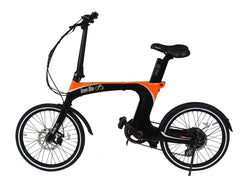 Green bike GB CARBON LIGHT Folding Electric Bike Electric Folding Bikes - Electric Bike City