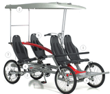 Belize Bike 2Rider Quadcycle Bicycle (Electric Bike Option Available) Electric Bikes - Electric Bike City
