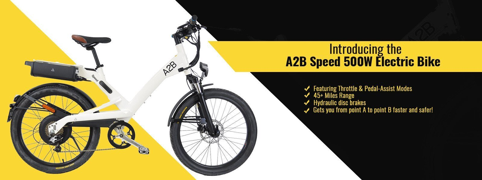A2B Speed 36V Electric Bike