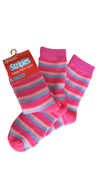 Girls Terry Socks - 3PK - deezo the happy fashion