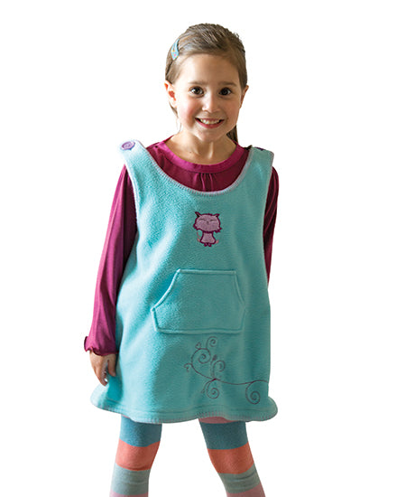 Light Blue Kitty Cat Winter Dress - deezo the happy fashion