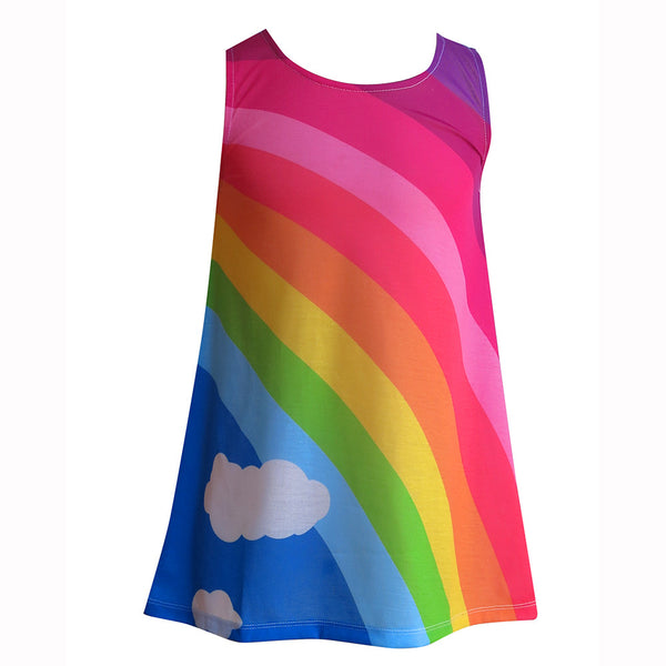 Classic Girls rainbow dress - Dresses deezo the happy fashion