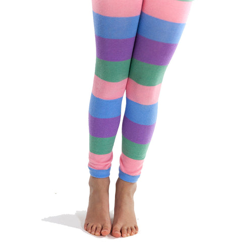 Pastel colours leggings - Socks & Tights deezo the happy fashion