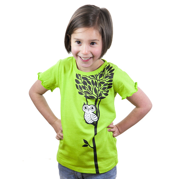 Lime Owl - Tops, Shirts & T-Shirts deezo the happy fashion