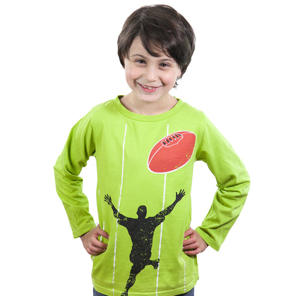 Green Footy - Tops, Shirts & T-Shirts deezo the happy fashion