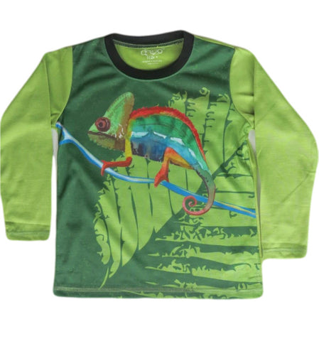 Karma Chameleon - Boys long sleeve T shirt - deezo the happy fashion